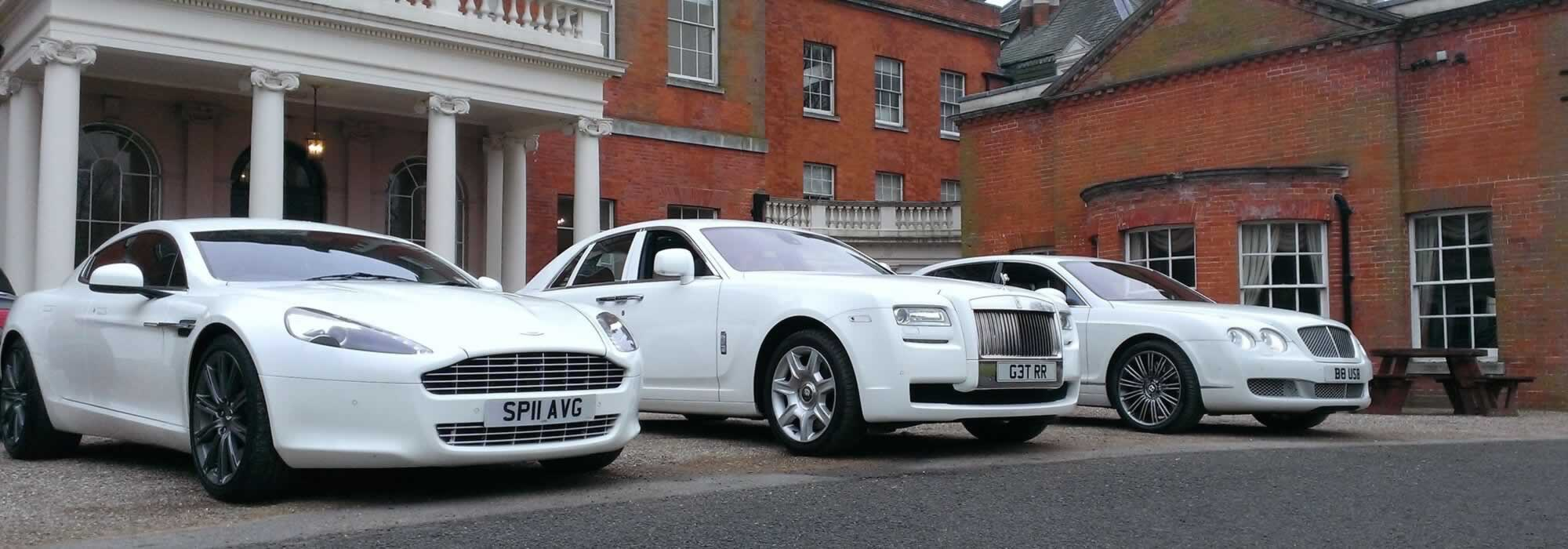 Wedding Car Hire Herts Limos