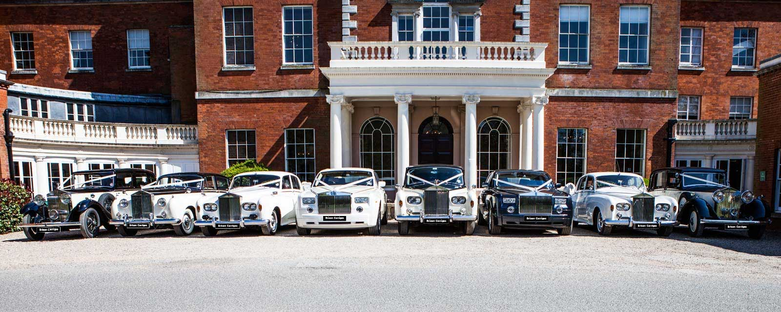 wedding cars hertfordshire